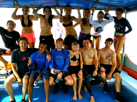 Dive Master Training