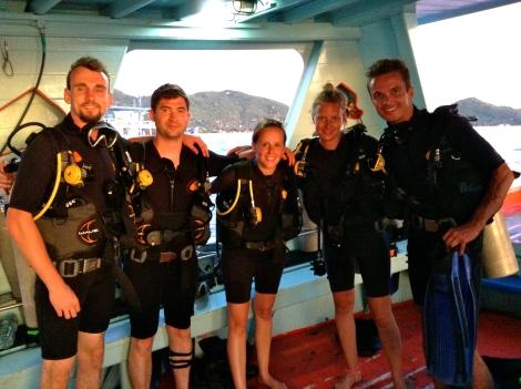 PADI Advanced Open Water DIvers