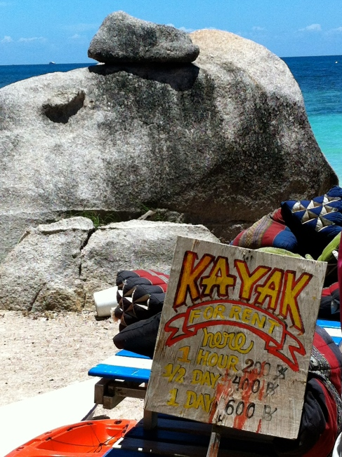 Koh Tao, Kayak