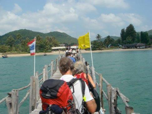 Lomprayah Pier Chumphon, Thailand