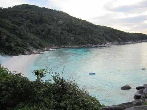 Liveaboard Similan island Scenery