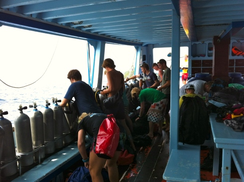 On the way to Mango Bay, Koh Tao