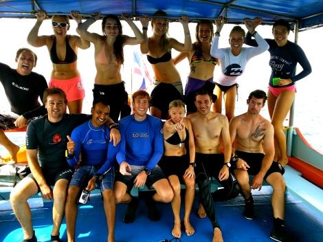 PADI Dive Master Course. Koh Tao. Thailand