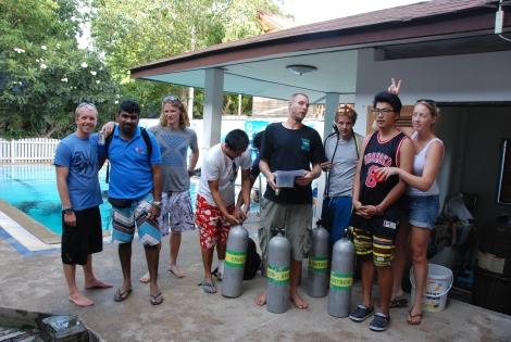 PADI Master Scuba Diver Trainer. Koh Tao. Thailand
