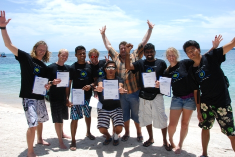 PADI Instructor Development Course. Koh Tao. Thailand