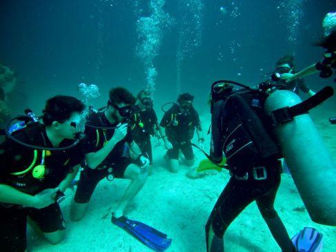 PADI Advanced Diver course. Koh Tao. Thailand