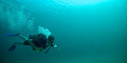 Navigation Adventure Dive. Koh Tao. Thailand