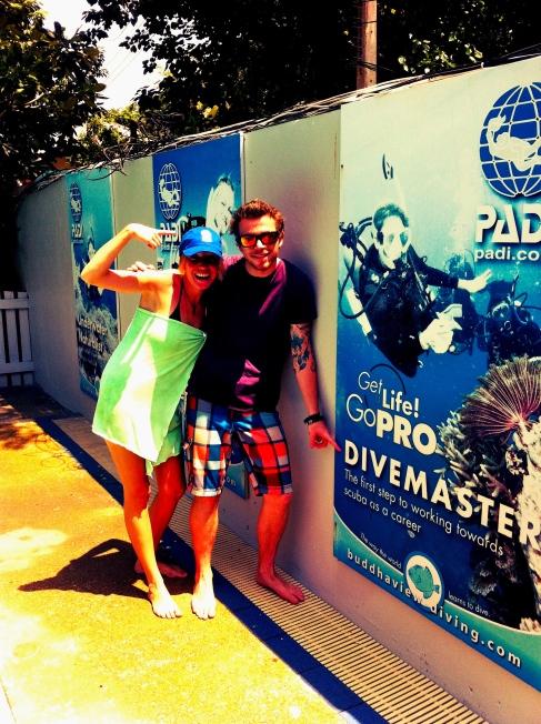 PADI Dive Master Training. Koh Tao, Thailand
