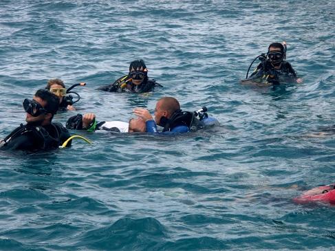 PADI Rescue Diver Course. Koh Tao. Thailand