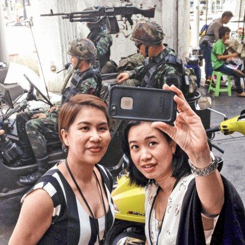 Bangkok, Thailand, safe, coup, army, travel, diving koh tao