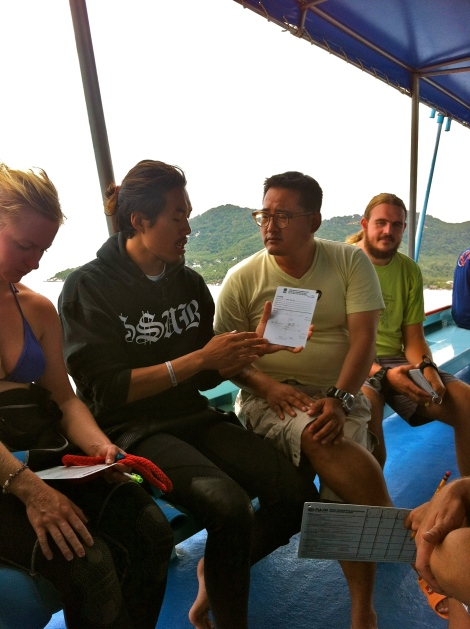 PADI IDC Team Korea