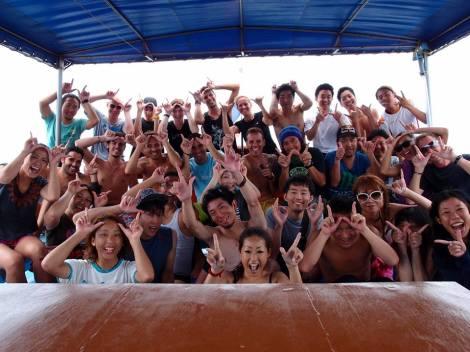 Whale Shark Morning Boat. Koh Tao. Thailand