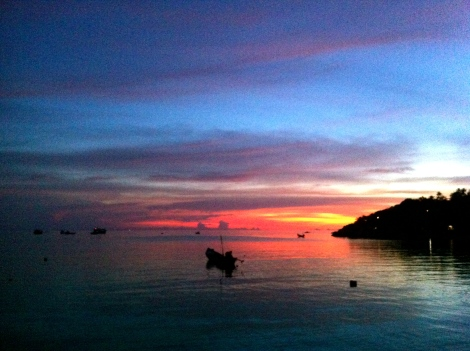 To remind us that we live on the paradise Island. Koh Tao, Thailand