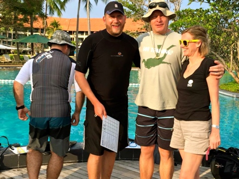 PADI Training Staff Course Director Training Course 2015