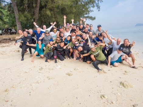 After the count down! PADI CDTC KK 2015
